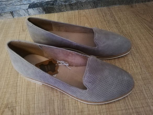 Дамски обувки от естествен велур 37