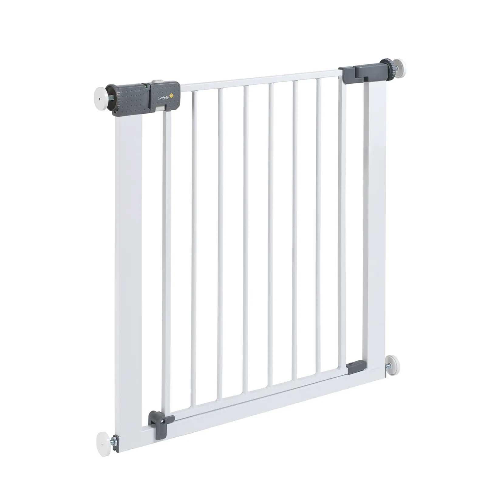 Safety 1ST Универсална метална висока преграда за врата 72см. БЯЛ