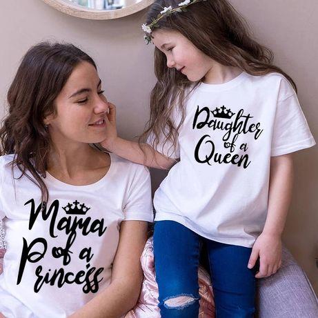 Тениски майка и дъщеря