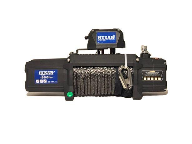 Troliu Husar Winch BST S 12000 LBS 5443KG 12V cablu sintetic