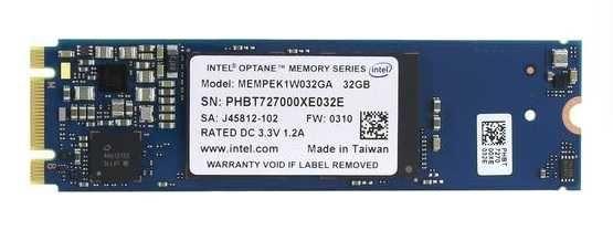 Оптан SSD Intel Optane Memory MEMPEK1W032GA 32 ГБ