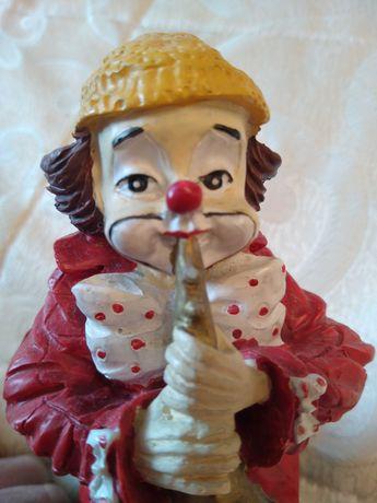 Clown ceramica statueta veche