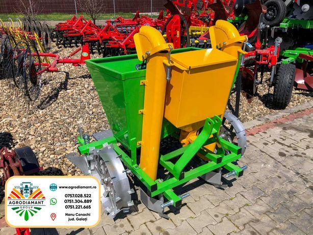 Semanatoare Plantator Masina de plantat cartofi BOMET cu fertilizare