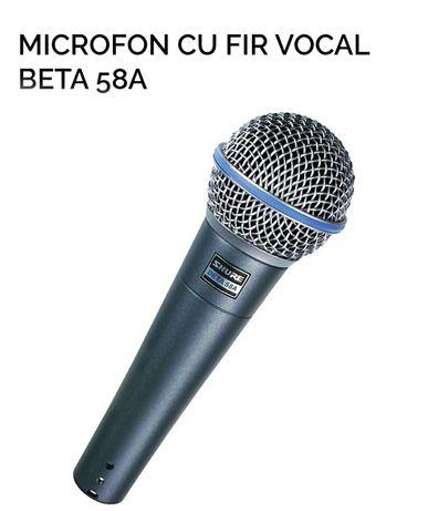 Microfon cu fir vocal Shure Beta 58A