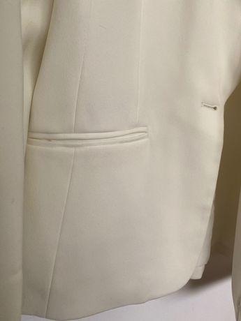 Sacou vintage alb