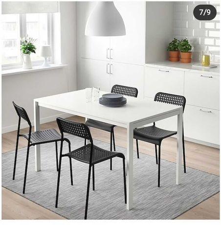 Продам пластиковые стулья АДДЕ от IKEA, количество 10 шт, б/у