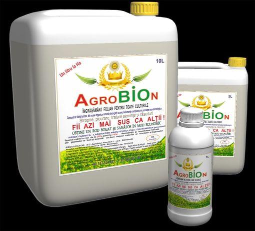 AGROBION cel mai bun ingrasamant organic concentrat ! 1 litru/ha