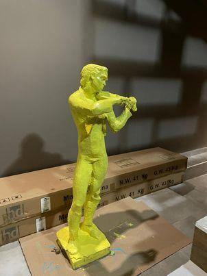 Гипсова Статуетка Цигулар