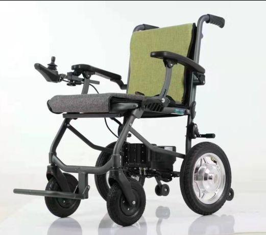 Инвалидная коляска электрическая, модель 2020 года, вес 15 кг!