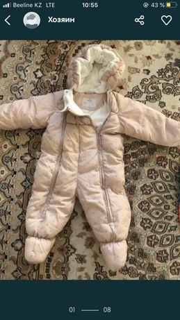 Демисезонный комбинезон baby go размер 80