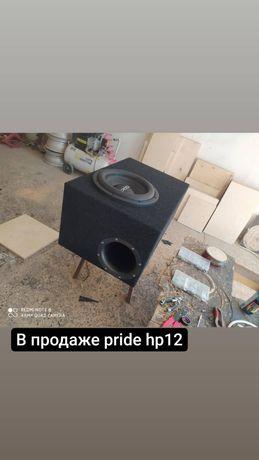 Сабвуфер pride hp 12