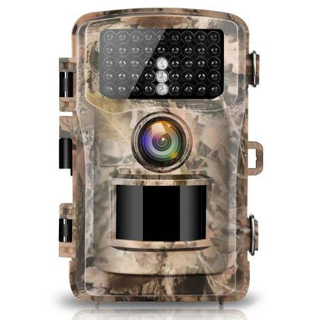 Cameră de vânătoare, pădurar, digitală cu card cu 4 baterii