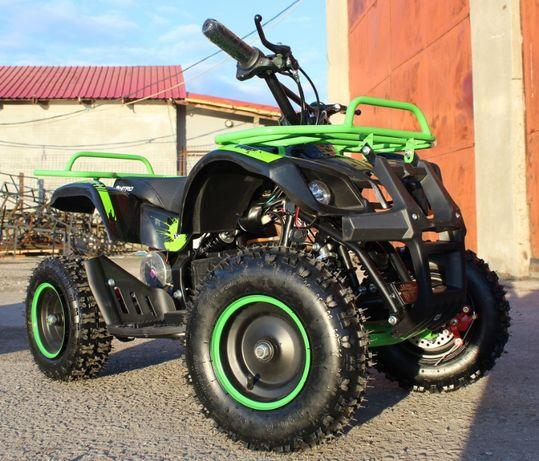 ATV electrica Eco Torino Deluxe 1000W 36V cu 3 Trepte de Viteza #Verde
