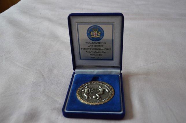 Medalie Wolverhampton Wanderers FC / Medalie Anglia placata cu argint