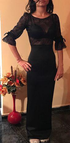 ПРОМОЦИЯ официална бална рокля с датела и висока талия