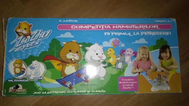 """Joc cu lumini si sunete """"Competitia hamsterilor"""", 3 ani +, UTILIZAT"""