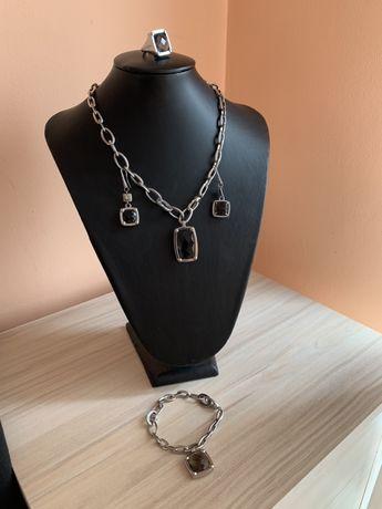 Комплект бижута Morellato - стомана и кристали