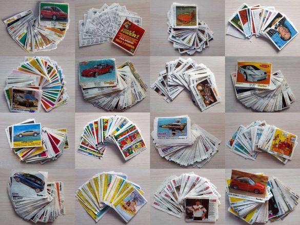 Картинки от дъвки Турбо и много други цели серии