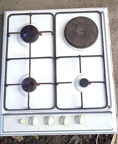 Плита газовая, электрический поджиг