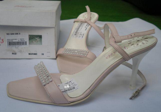 sandale Maris TR251 roz piele nr 39 si nr 38