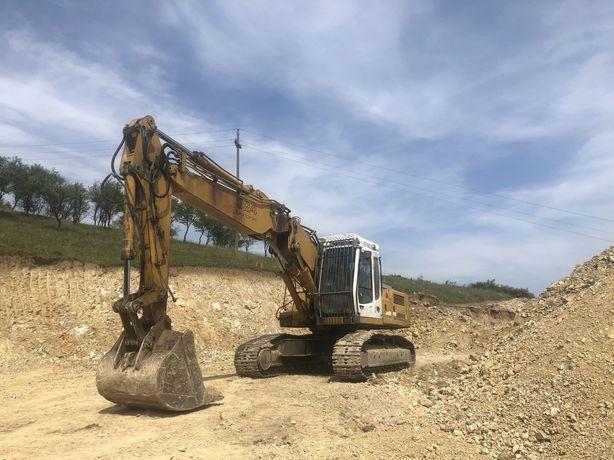 Excavator Liebherr 924 Litronic cu braț triplex 28tone