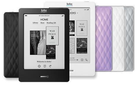 "Електронен четец Кобо Тъч / ereader Kobo Touch 6"" E-ink 2GB"