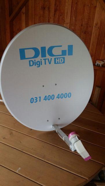Vând avantajos antenă satelit și 4 decodoare