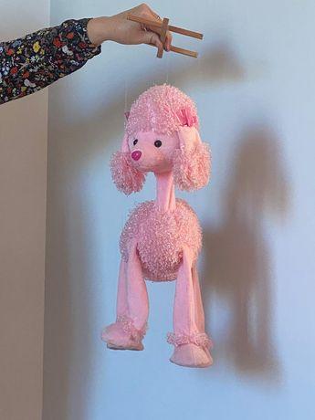 Marioneta Pudel roz