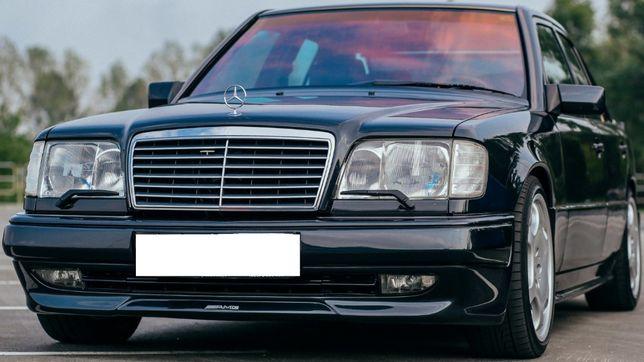 Стекло фары Mercedes-Benz W124