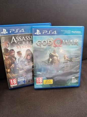 Ps4 god of war. assassin,s creed syndicate