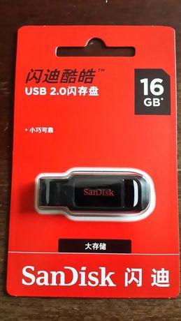 флешка SunDisk 16 гигов