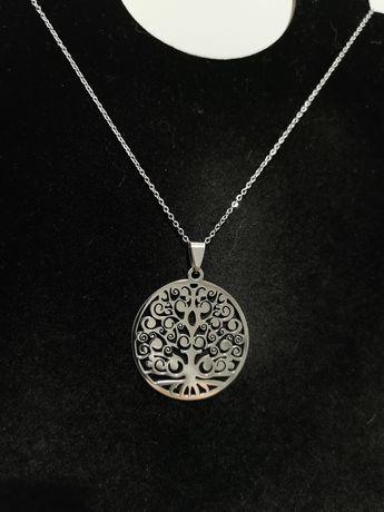 Lănțișor cu medalion Tree of Life