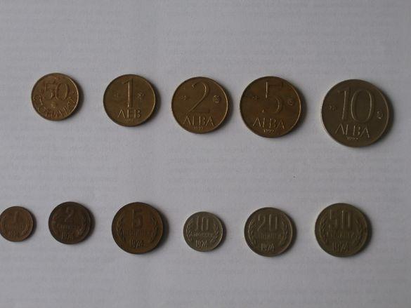 Лот монети 1974 г. и 1992 г.