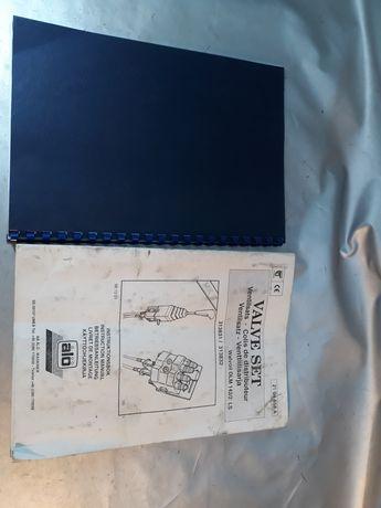 Carte set valve pt încărcător frontal tractor Alo manual instrucțiuni