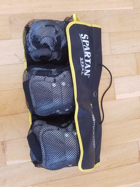 nou Set protecție genunchiere cotiere mănuși pt skate, biciclete copii