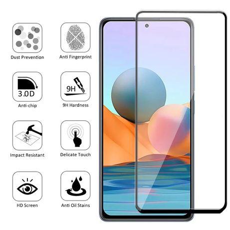 5D Стъклен протектор за Xiaomi Redmi Note 10S Mi A2 A3 A1 8 Pro 9S 8A