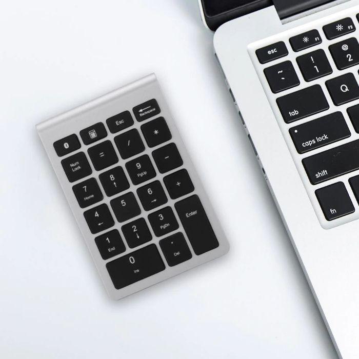 Tastatura numerica wireless, subtire, 22 taste, pt laptop PC MacBook Bucuresti - imagine 1
