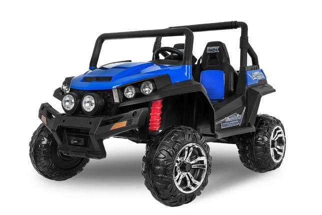 UTV electric pentru 2 copii Kinderauto Golf-Kart 210W 24V PREMIUM #Blu