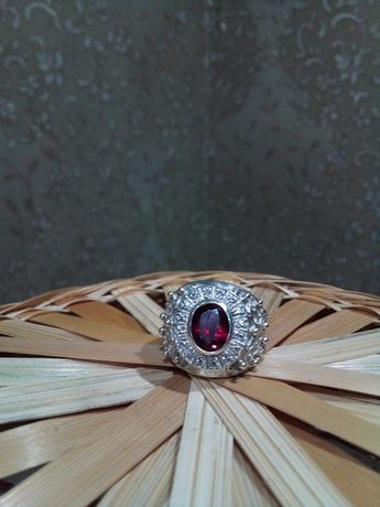 Перстень мужской серебрянный