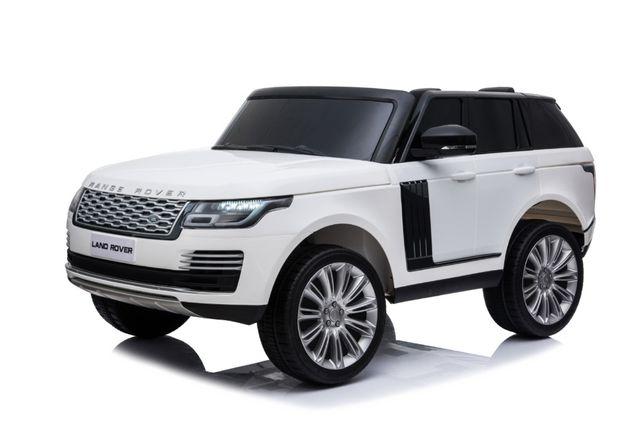Masinuta electrica pentru 2 copii Range Rover Vogue HSE NOU #ALB