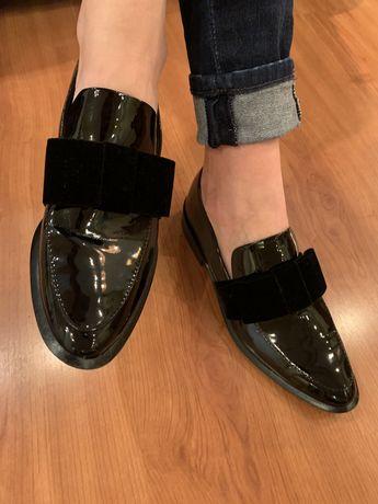 Pantofi Zara din lac