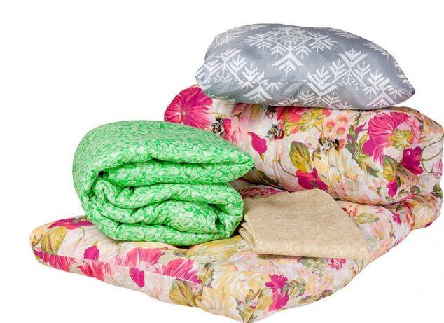 Комплекты рабочие - подушка, одеяло, матрас ватный , постельное белье