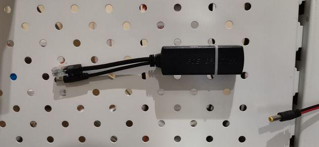PoE адаптер (сплиттер) 48 Вольт - 12 Вольт