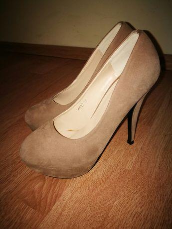 Pantofi crem