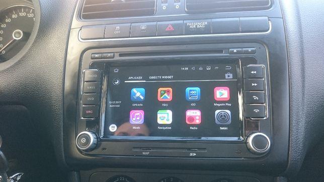 Navigatie VW Golf Passat Jetta Tiguan EOS Android 9.0 platforma S300