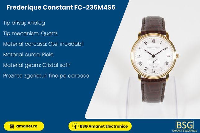 Ceas Frederique constant FC-235M4S5 - BSG Amanet & Exchange