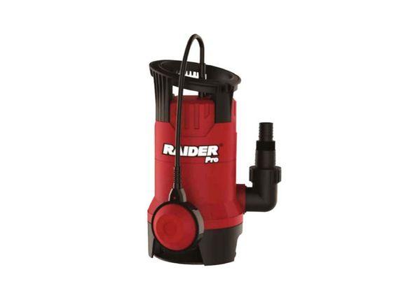 Водна помпа потопяема за мръсна вода 400w, напор 7м RAIDER RDP-WP42