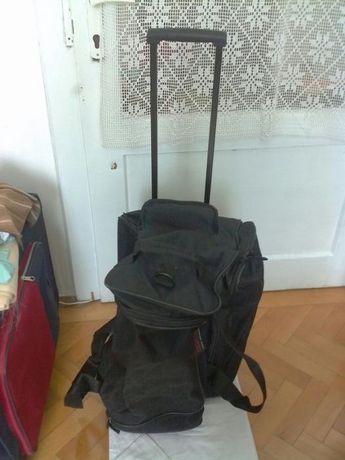 Trolar pliabil posibilitatea de a se transforma în geanta