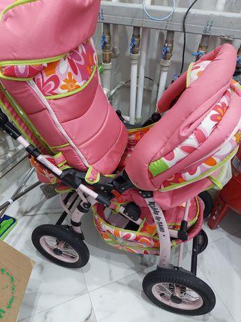 Продам коляску для девочки