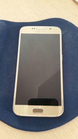 Vand Samsung S6 Gold 32GB DEFECT (display spart)